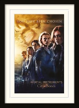 MORTAL INSTRUMENTS - chosen ingelijste poster met glas