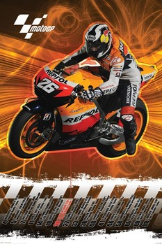 Póster Moto GP - dani pedrosa