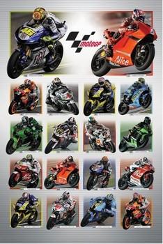 Póster Moto GP - riders