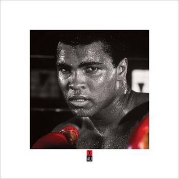 Muhammad Ali Boxing S. Kunstdruk