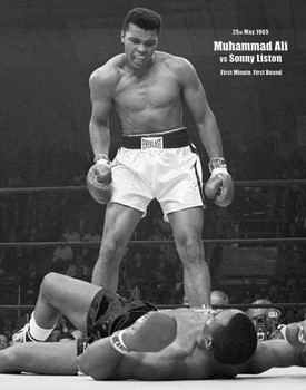 Muhammad Ali - portrait Poster / Kunst Poster