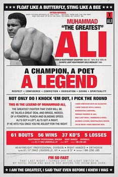 Muhammad Ali - vintage corbis Poster / Kunst Poster