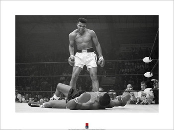 Muhammad Ali vs Liston Kunstdruk