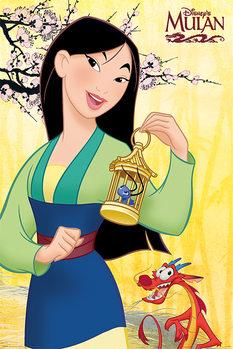 Póster Mulan - Blossom
