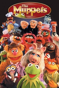 Poster  MUPPETS - elenco