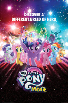 Póster My Little Pony Movie - A Different Breed of Hero