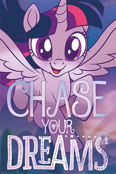 Póster  My Little Pony: Movie - Chase Your Dreams