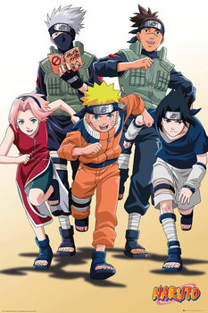Póster Naruto - Run