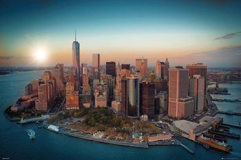 New York - Freedom Tower Manhattan Poster