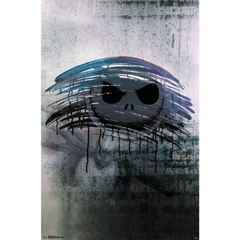 Nightmare Before Christmas - Jack Mirror Poster