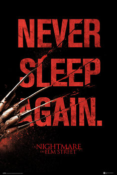 Poster  Nightmare On Elm Street - Never Sleep Again