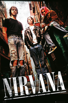 Póster Nirvana - alley