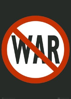 Poster No war!