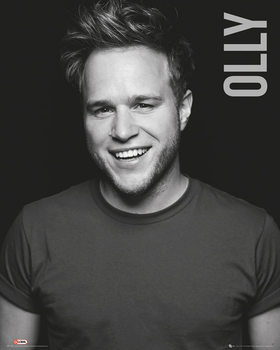 Olly Murs (Zwart Wit) Poster