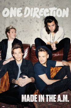 Póster One Direction 1D - Made in the AM