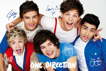 Póster One Direction - colours
