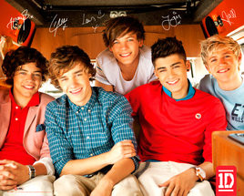 Poster One Direction - group