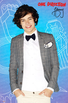 Póster One Direction - harry pop
