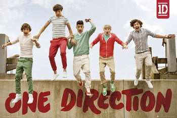 Póster One Direction - jumping