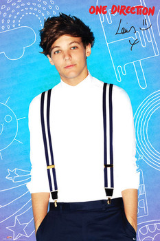 Póster One Direction - louis pop