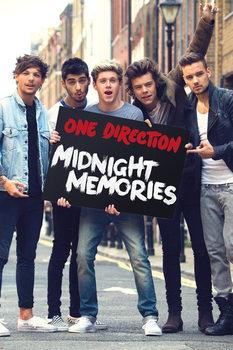 One Direction - Memories Poster / Kunst Poster