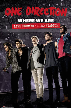Póster One Direction - Movie