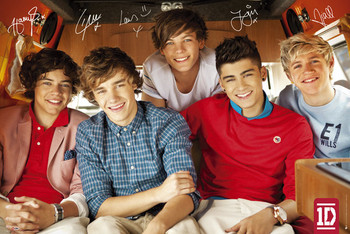 Poster One Direction - single cover