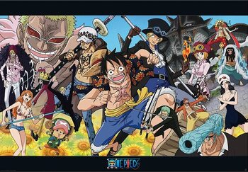 Póster One Piece - Dressrosa