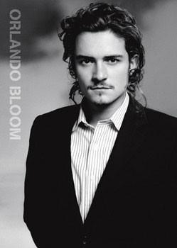 Póster Orlando Bloom - suit