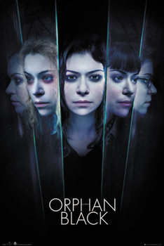 Orphan Black - Faces Poster