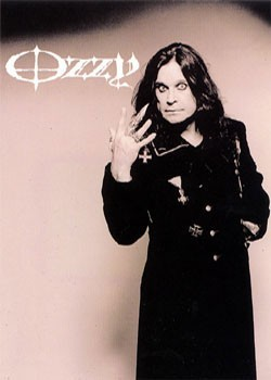 Poster Ozzy Osbourne - hand