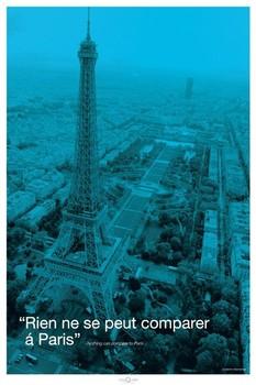 Poster Paris - city quote