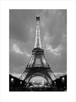 Paris Eiffel Tower  Poster / Kunst Poster