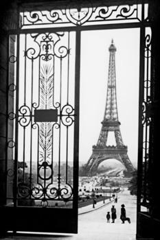 Poster Paris - gates