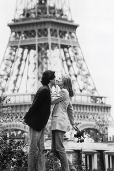 Poster Paris - l'amour