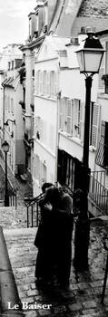 Poster Paris - le baiser