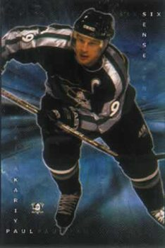 Paul Kariya - NHL Poster