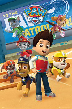Poster  Paw Patrol - Characters