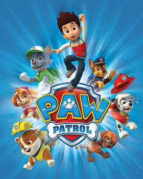 Poster Paw Patrol - Jump