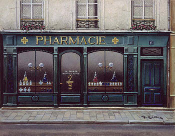 Pharmacie Kunstdruk