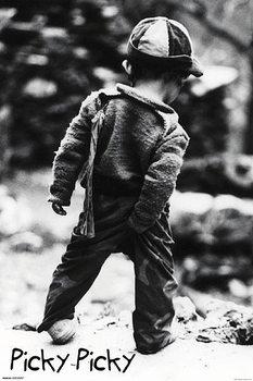 Picky Picky - Small boy Poster