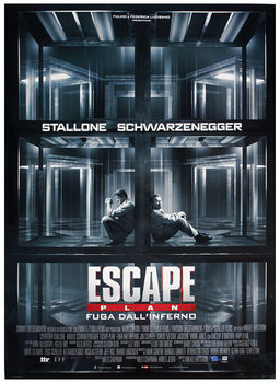 Póster PLAN DE ESCAPE - ESCAPE PLAN