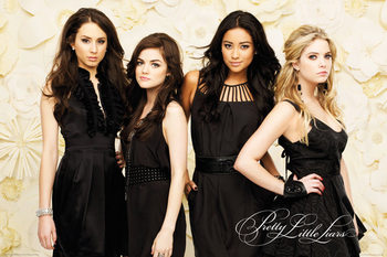 Poster Pretty Little Liars - Black Dresses