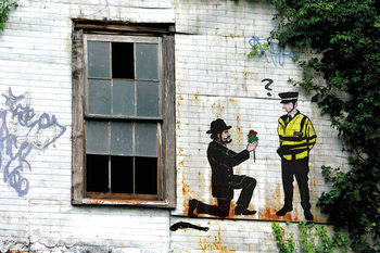 Poster Prolifik Street Art - Police