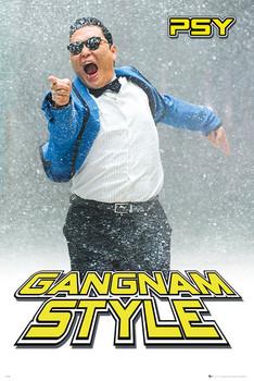 Póster PSY - gangnam snow