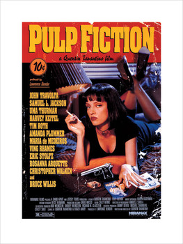 Pulp Fiction Kunstdruk