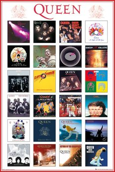 Póster Queen - Covers