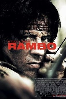Póster  RAMBO IV. - one sheet