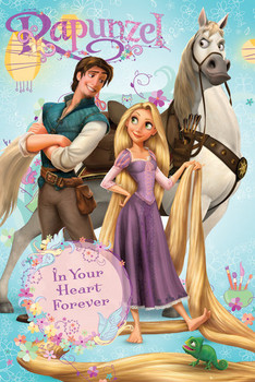 Poster RAPUNZEL - group