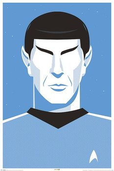 Poster  Raumschiff Enterprise - Pop Spock  50th Anniversary